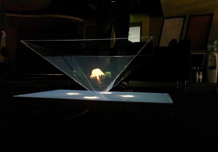 Giant Hologram – Devana Labs